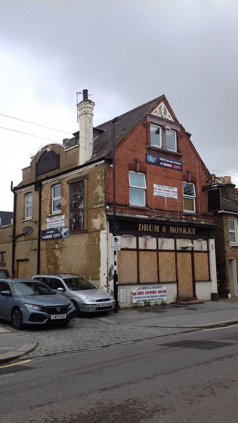 Property Photo: The Former Drum & Monkey Public House, 7 Gloucester Road, Croydon